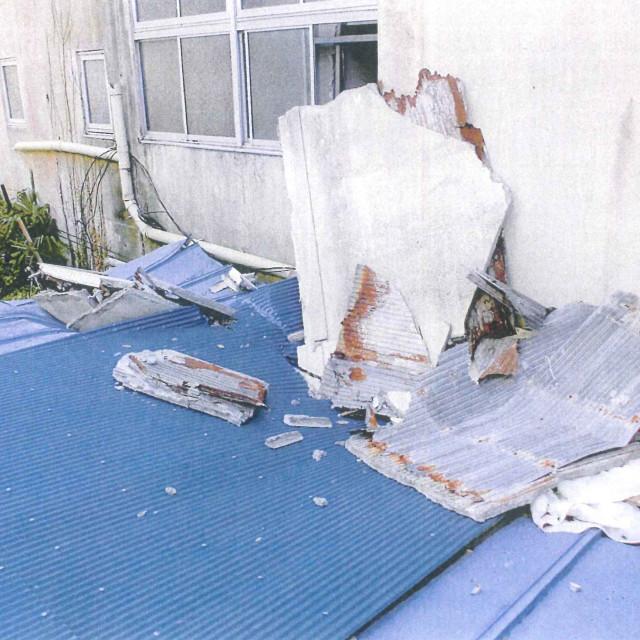 南町3丁目空きビル被害