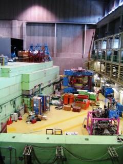 事故現場となったJ―PARC敷地内にあるハドロン実験施設内の様子